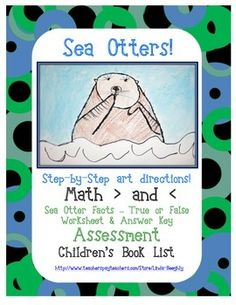FREEBIE!!  -  ELA and Math with Otter Art Project  -  Are you planning a unit on oceans?  Is the otter your school mascot?  What other marine mammal is this cute?  My step-by-step instructions & pictures will help you teach how to draw one.   I've also included recommendations for children's literature to introduce & reinforce the art & academics.    Handouts & answer keys are included.  K, 1st, 2nd    Follow me at: http://www.teacherspayteachers.com/Store/Linda-Beeghly
