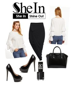 """""""Shein"""" by butterflykiss0078 ❤ liked on Polyvore featuring Givenchy"""