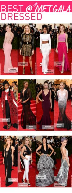 Our #BestDressed from the #MetGala now on the #F21Blog wow Emma stone is stunning!