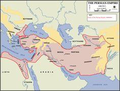 Persian Empire, 500 BCE. Audience Hall (apadana) of Darius and Xerxes…