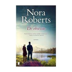 3-2018 Nora Roberts, De obsessie - Heerlijk boek, drama, spanning en romantiek