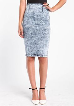 #Love Culture             #Skirt                    #ACID #WASH #DENIM #PENCIL #SKIRT                   ACID WASH DENIM PENCIL SKIRT                                                  http://www.seapai.com/product.aspx?PID=7118