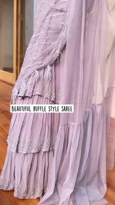 Fancy Dress Design, Stylish Dress Designs, Designs For Dresses, Indian Gowns Dresses, Indian Fashion Dresses, Indian Designer Outfits, Saree Designs Party Wear, Designer Party Wear Dresses, Stylish Dresses For Girls
