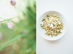 Simple Pasta with Fresh Herbs // Not Without Salt