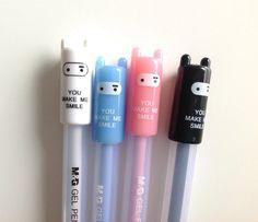 Cute pen girls boys pen black ink fun by MelsEclecticsupplies