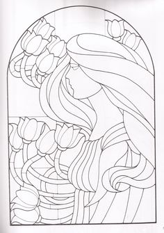 Stained Glass, Quilts, Quilting Ideas, Abstract, Flowers, Artwork, Colouring In, Drawings, People