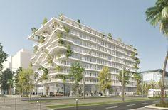 Galería de NL*A presenta imágenes de nuevo proyecto verde en Francia - 11