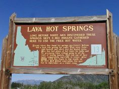 Lava Hot Springs, Idaho Great Places, Places To See, Places Ive Been, Adventure Bucket List, Family Adventure, To Infinity And Beyond, Outdoor Life, Hot Springs, Idaho