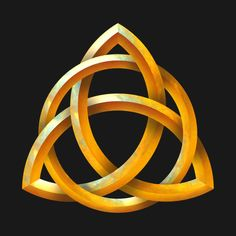 Check out this awesome 'Celtic+Triquetra+-+Beveled+Gold' design on @TeePublic!