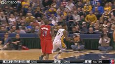 GIFD Sports: Paul George 360 windmill dunk vs Clippers