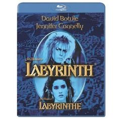 Labyrinth [Blu-ray] [Region Free] (Get Two Selected Blu-ray Titles for David Bowie (Actor), Jennifer Connelly (Actor), Jim Henson (Director) Jim Henson Labyrinth, Labyrinth Tattoo, David Bowie, Home Entertainment, Jennifer Connelly Labyrinth, Blu Ray Movies, Cult, Movies, Childhood