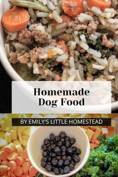 Homemade Dog Food Dog Biscuit Recipes, Dog Treat Recipes, Raw Food Recipes, Homemade Dog Treats, Healthy Dog Treats, Doggie Treats, Happy Healthy, Vegan Dog Food, Make Dog Food