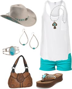 """""""Brown Montana & Turquoise"""" by ding1 on Polyvore"""