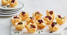 For an easy finger food recipe, you can't look past these cheesy chicken pastry bites, made from only six ingredients.