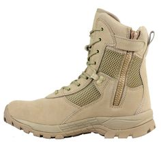 Maelstrom® LANDSHIP 8''  Military Tactical Police Duty Work Boots with Zipper #Maelstrom #TacticalMilitaryDutyWork