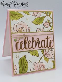 awesome I used the Stampin' Up! Celebrate You Thinlits Dies and some of the beautiful Springtime Foils DSP to create my card for the Stamp Ink Paper challenge this week. Here is the challenge badge for Sta… Read More by klstamps Penny Black, Paper Cards, Foil Paper, Zealand Tattoo, Best Wishes Card, Birthday Cards For Women, Some Cards, Pretty Cards, Card Sketches