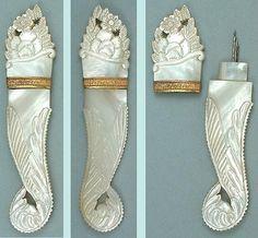 Palais Royal MOP Needle Case - Circa 1820