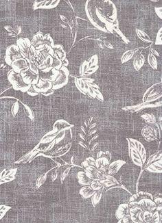 Oilcloth Tablecloth PVC Tablecloth : 1410 SPARROW CHARCOAL 134 x 280cm matt