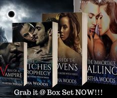 Read them ALL in One Set. Calder Witch Series!!! Paranormal Romance Vampires    https://amzn.to/2JwUgKa  #marthawoods #calderwitch #boxset #kindlebooks #kindleunlimited #kindlereaders