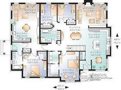 multigenerational home designs & floor plans | house, barndominium