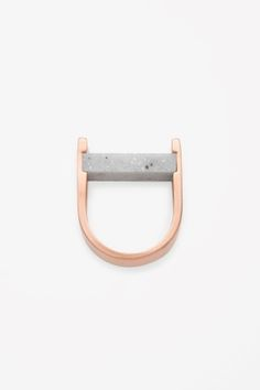Stone bead ring