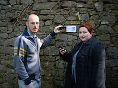 """In the installation """"Reminisce""""- designed for an Irish open-air museum, Bunratty Folk Park - participants could follow in the footsteps of characters from Ireland's past, collecting """"tokens"""" related to character's lives in physical and digital forms. The physical tokens provided visitors with a tangible representation of their progress and physical """"anchoring"""" to the houses and were also """"keys"""" to unlocking additional digital content at a specific site using RFID tags."""