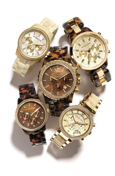 I want that one in the top right corner, anyone know what it is?   Michael Kors 'Jet Set' Bracelet Watch | Nordstrom