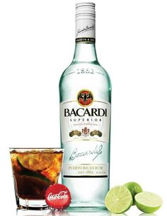 Bacardi Rum & Coke! Mmmm :)When she likes to relax at her favorite restaurant. She loves this