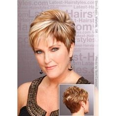 short hairstyles for women over 50 | Cute short hairstyle by beth