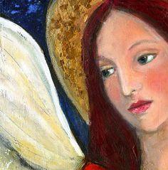 blushing angel