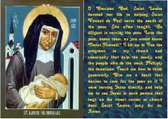 Saint Louise De Marillac Feast Day: March 15