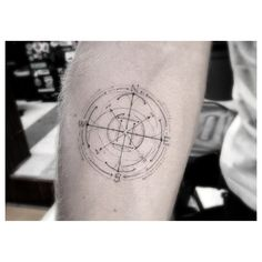 Virgo inspired tattoos. Most are tacky, but a compass would be perfect