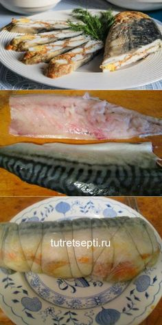 Fish And Seafood, Diy Food, Fresh Rolls, Fish Recipes, Food And Drink, Appetizers, Cooking, Ethnic Recipes, Homemade Recipe