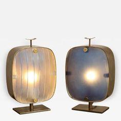 Fontana Arte Small Scale Table Lamp by Fontana Arte