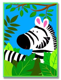 $29.99-$29.99 Baby The Kids Room It's A Jungle Out There Wall Plaque, Zebra - The Kids Room features exceptional handcrafted wall decor for children of all ages. Using original art designed by in-house artists, all pieces feature hand painted and grooved borders as well as colorful grosgrain ribbon for hanging. Made in the USA, everything found in The Kids Room exudes extraordinary detail with c ...