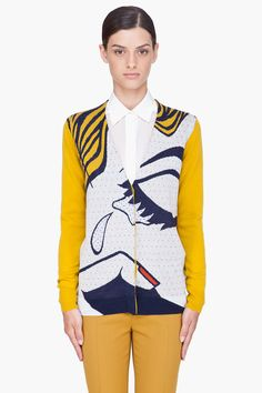 Love the mix of pop art and fashion