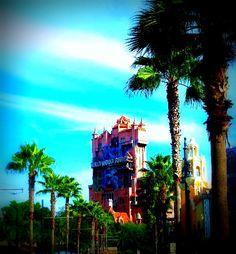 Hollywood Tower Of Terror, Hollywood Studios Orlando-HDR