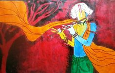 krishna - Painting by vaihbav yadav in My Diary at touchtalent 77464 at touchtalent 77464