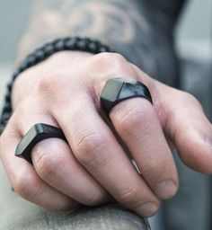 Jewelry for the Modern Man A beginner's guide to learning more about jewelry which accessories are suitable and which aren't. Read on to know how to rock accessories. The post Jewelry for the Modern Man appeared first on Best Of Daily Sharing. Bijou Geek, Fashion Mode, Mens Fashion, Rock Fashion, Style Fashion, Fashion Outfits, Jewelry Rings, Jewelery, Man Jewelry