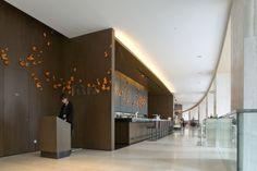 hotel lobby - art installation