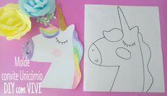 Resultado de imagen para molde unicornio