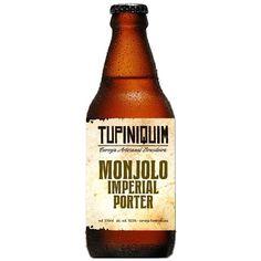 Chegou a #cerveja Tupiniquim Monjolo Imperial Porter.