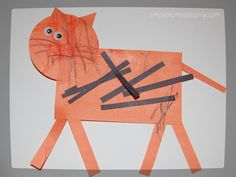Tiger   Simple. Home. Blessings - Fun tiger craft for the young ones!
