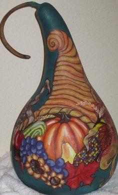 Cornucopia Gourd