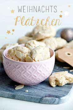 Weihnachten, Weihnachtsplätzchen, Mandel-Plätzchen Spoon and Key Blog
