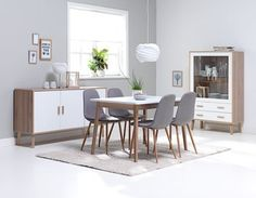 Pöytä GAMMELGAB P120 + 4 tammi JONSTRUP Dining Set, Dining Chairs, Dining Table, Dining Room Inspiration, Home Decor Styles, Solid Oak, My Dream Home, Living Room, Furniture