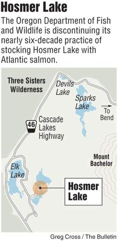 End of Atlantic Salmon at Hosmer Lake after 57 years; State will continue to stock trout at popular lake