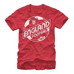 England National Soccer Team Equipped Mens Graphic T Shir...