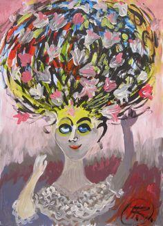Study Moteris su selim (2012)  ©Asta Rudminaite 2012