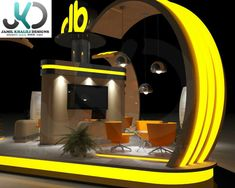 JB Exhibition booth on Behance Exhibition Booth, Behance, Design